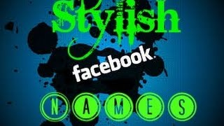Facebook Stylish Names ID Lover Come Here - Best Fonts