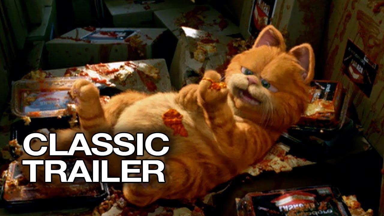 Garfield (2004) Official Trailer # 1 - Bill Murray HD