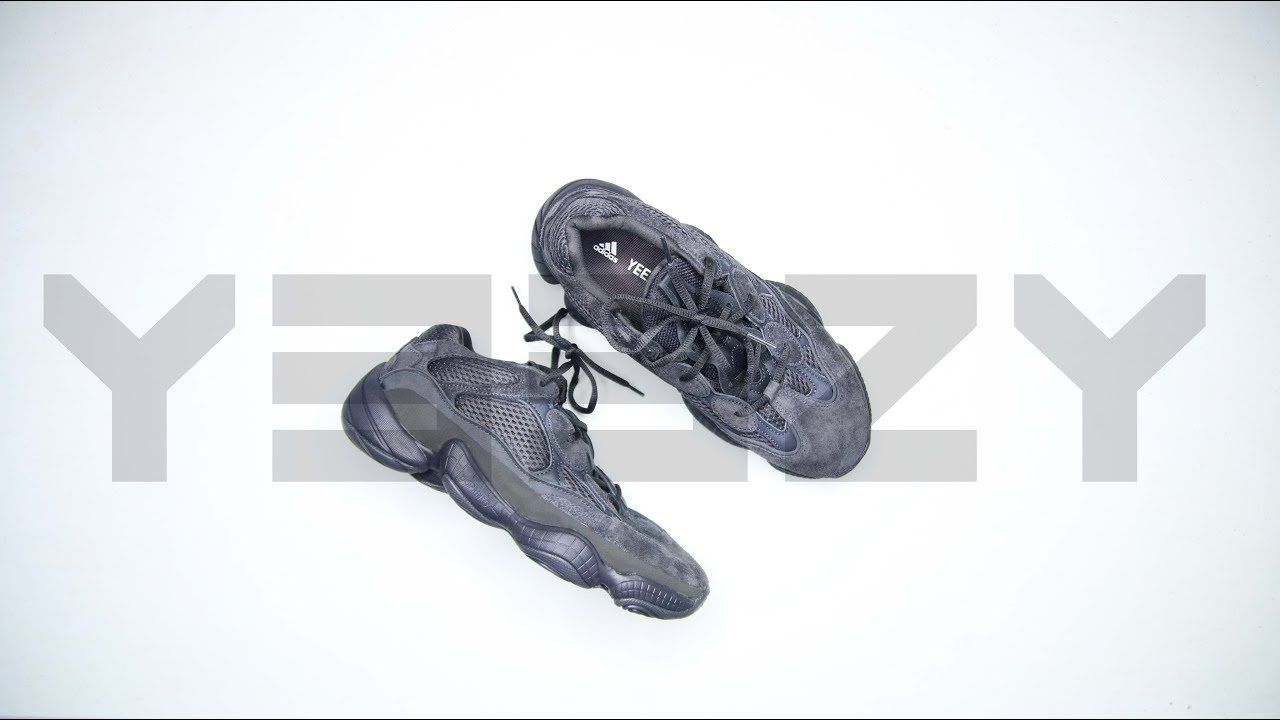 746dabfc16a84 ADIDAS YEEZY 500 UTILITY BLACK IS THE BEST YEEZY 500 - YouTube