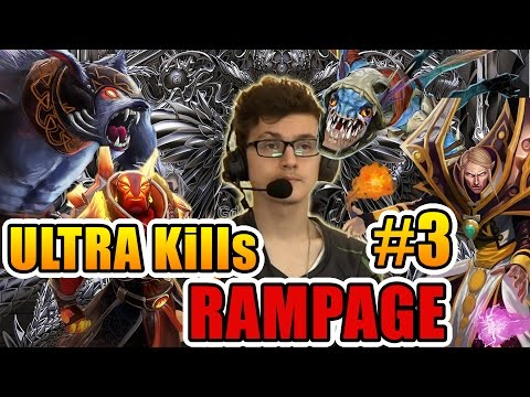 Miracle- Dota 2 - ULTRA Kills - RAMPAGE Moments #3