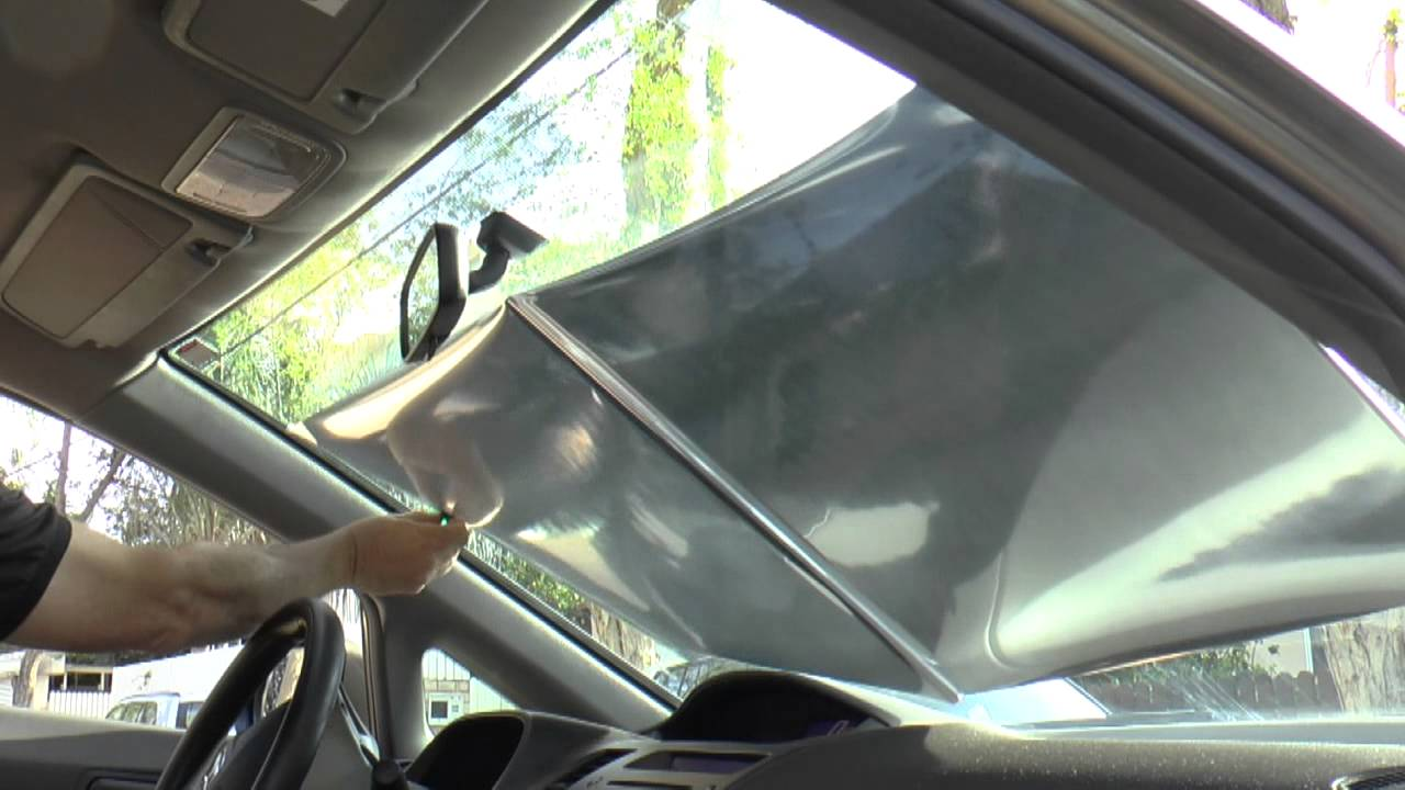Roll it - the best car Shade under the sun. - YouTube 8e7fe40a8b1