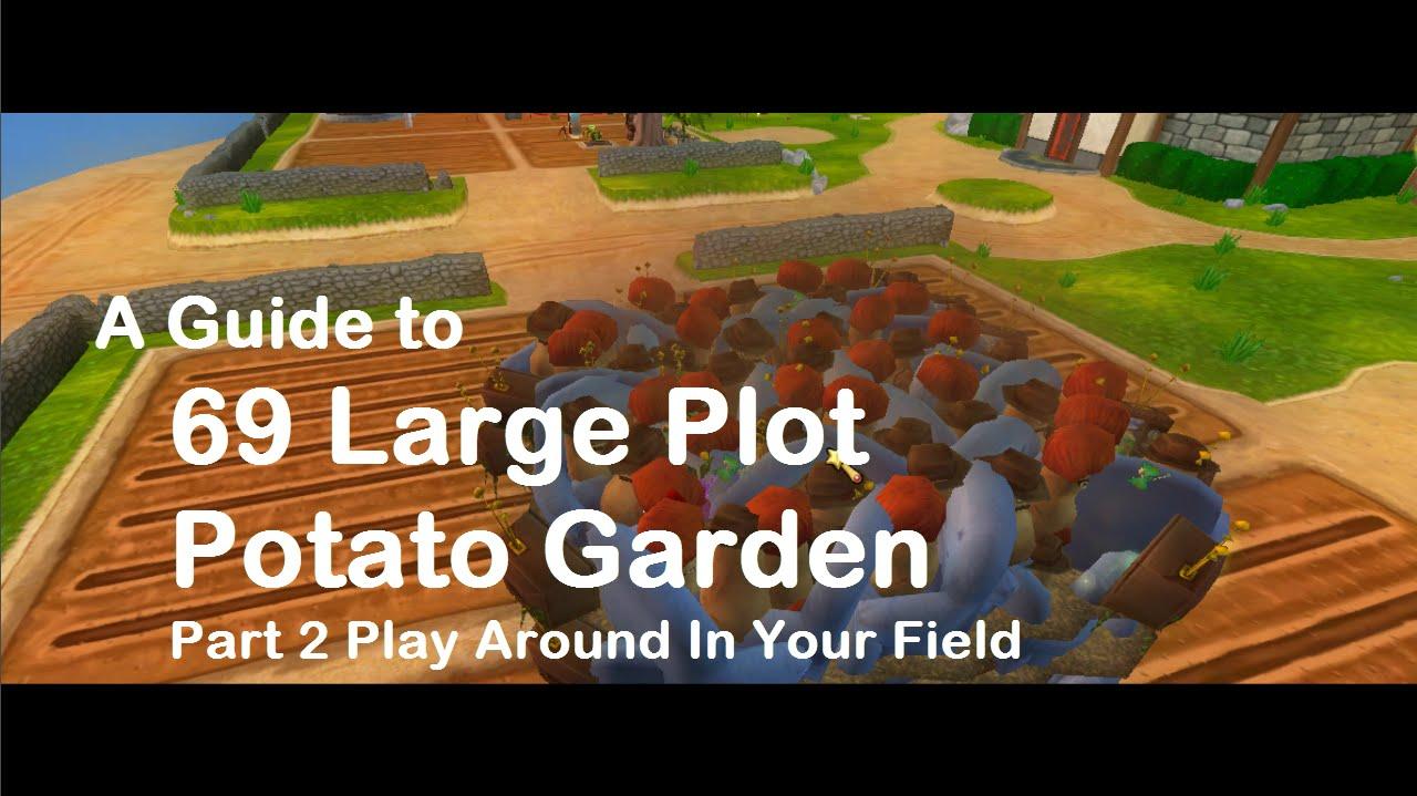 Wizard101 Gardening - A Guide to 69 Large Plot Potato Garden - Part ...