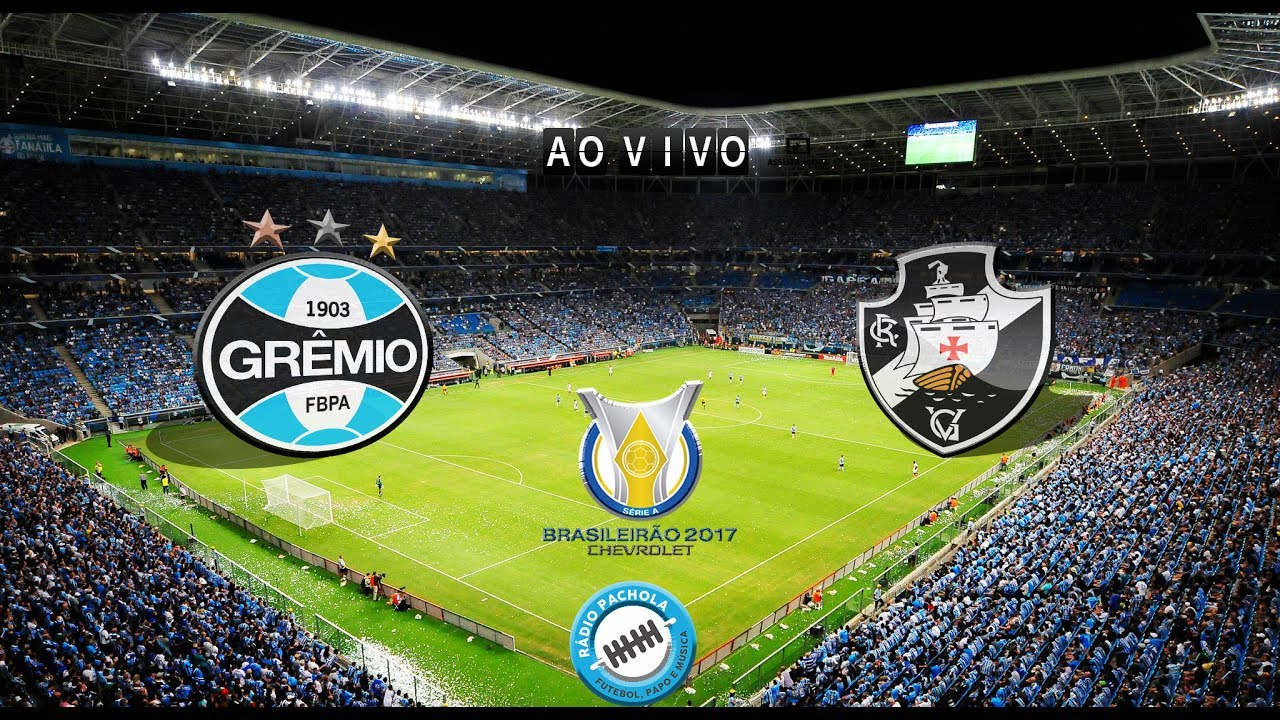 GRÊMIO X VASCO AO VIVO - YouTube