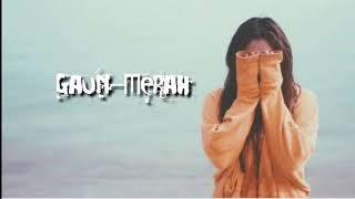 GAUN MERAH-SONIA(Video Animation Dan Lirik)Sumpah sedih bangat Lagunya