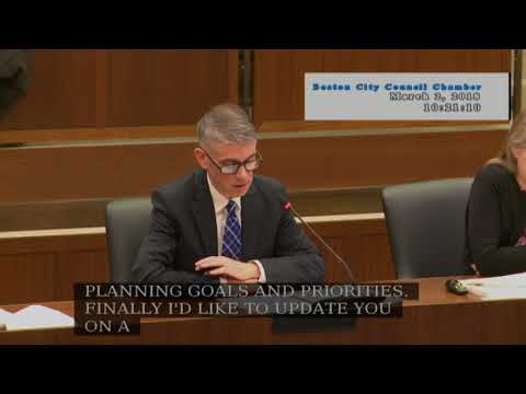 Committee on Planning, Development & Transportation on March 2, 2018