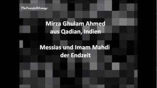 Freundlichkeit im Islam - Zitat des Messias und Imam Mahdi