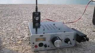 qso ea5blp with em50kff in ukraine using whip antenna qrp