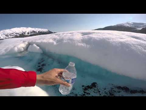 Drink Glacier water