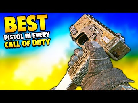 The BEST PISTOL in Every Call of Duty