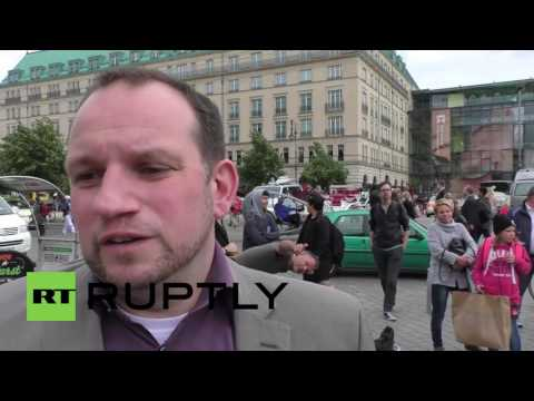 Germany: Tributes left at French embassy in Berlin for Nice victims