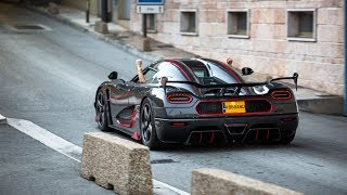 Woman drives her Full Carbon Koenigsegg Agera RS In Monaco !