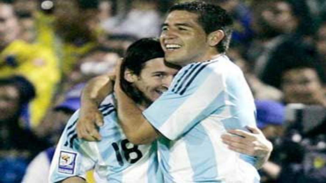 Especialdetodito Lionel Messi Y Juan Roman Riquelme Goles Y Jugadas
