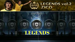 PES 2018 Mobile LEGENDS vol.2 ZICO Pack Opening