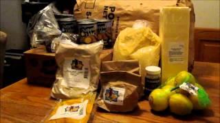 Grocery Haul: Azure Standard Order For February
