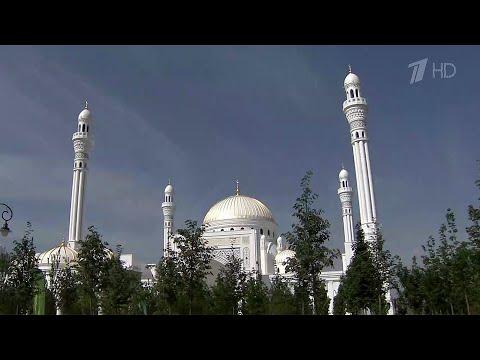 В чеченском городе Шали открыли самую большую в Европе мечеть