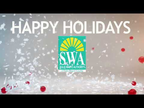2017 Solid Waste Authority of Palm Beach County HCRC HOLIDAY PARODY