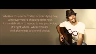 Jason Mraz - Everything Is Sound (La La La) (lyrics)