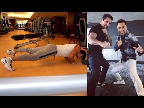 Donnie Yen Amazing Workout And Practice  2018