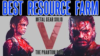 MGSV Phantom Pain - Infinite Resource Farm Tips #2 | FAST | Fuel | Precious Metal | Minor Metal