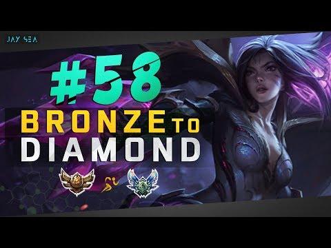 The 1 v 9 Pop Off Ft. Ekko | Kai'Sa ADC | Depths of Bronze to Diamond Episode #58
