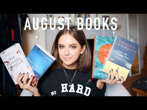 AUGUST BOOKS | sunbeamsjess