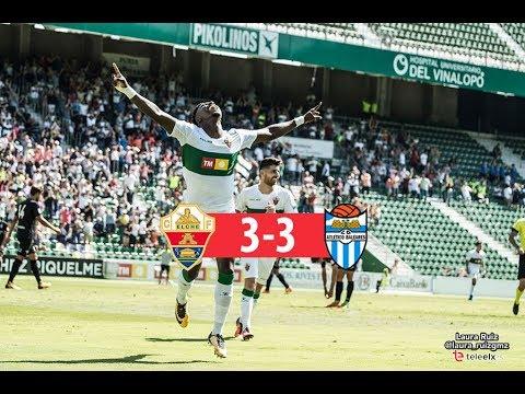 RESUMEN | Elche CF 3-3 At. Baleares | Segunda B G3, jornada 6