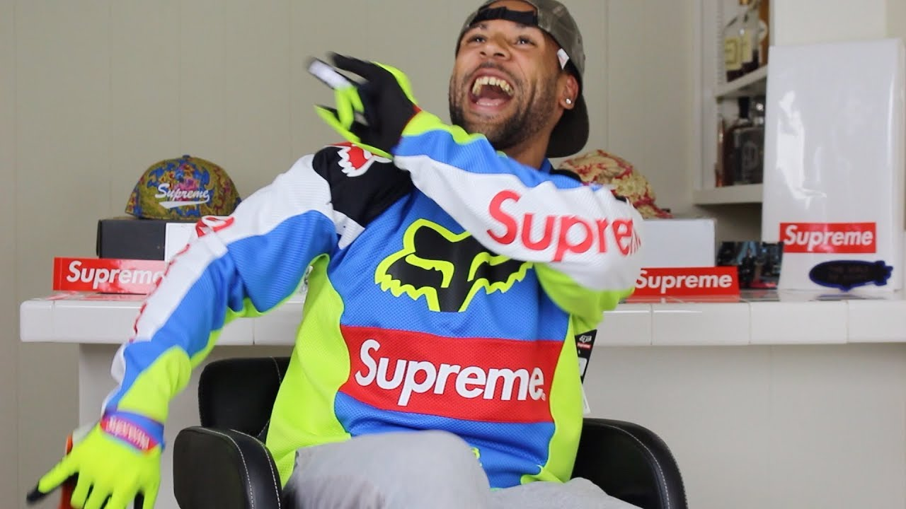 Supreme X Fox Colab Moto Jersey Unboxing, Review & Legit Check By