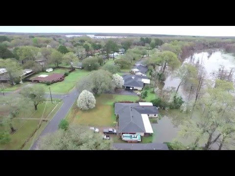 Treasure Island Flooding Monroe Louisiana March 11, 2016