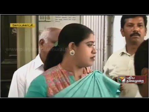 Congress MLA Vijayadharani removal from Tamilnadu Mahila Congress Chief Post