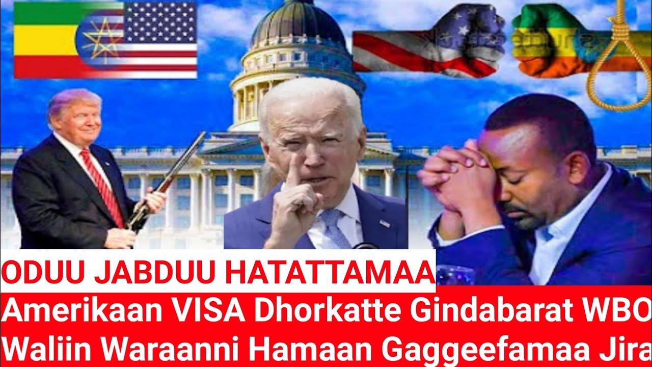 Download ODUU JABDUU HATATTAMAA Amerikaan VISA Dhorkatte Gindabarat WBO Waliin Waranni Hamaan Gaggeefama Jira