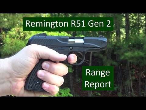 Remington R51 Gen 2 Range Report