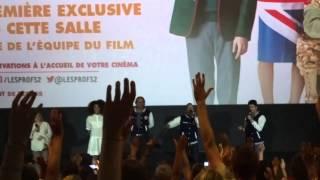 Avant-première Les Profs 2, avec Kev Adams, Pierre-François Martin-Laval, Iabelle Nanty...