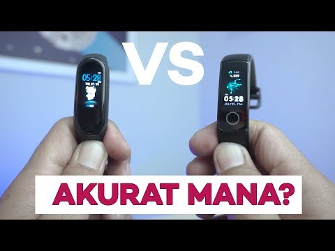 DUEL SMARTBAND AMOLED : Mi Band 4 Vs Honor Band 4