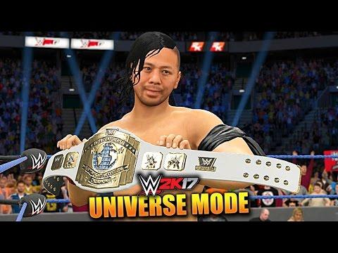 WWE 2K17 UNIVERSE MODE #62 'NEW INTERCONTINENTAL CHAMPION!' (WWE 2K17 Gameplay)