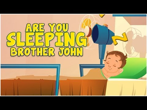 Are You Sleeping | Rhymes | Kids Poems With Lyrics | Cartoons Central