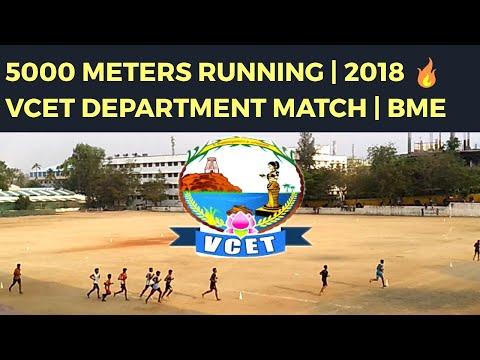 5000 Meters Running (Mini Marathon) 2018 VCET Department Match