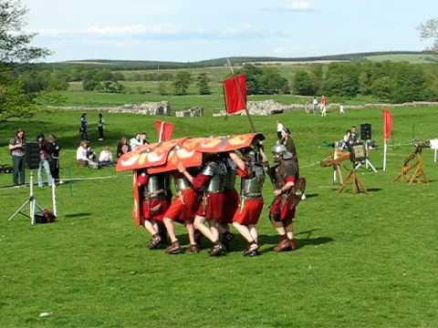 Roman shield technique