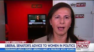 Concetta Fierravanti-Wells advises women that politics is a tough game