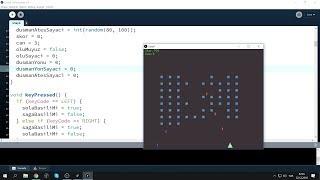 Çılgın Processing 21 - Space Invaders Gibin