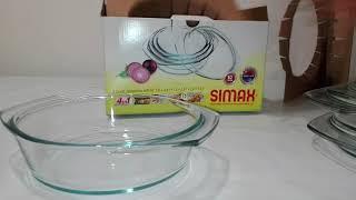Simax Набор кастрюль с-крыш (1,0л ,1,5л ,2,0л )-3пр Color S301 - обзор