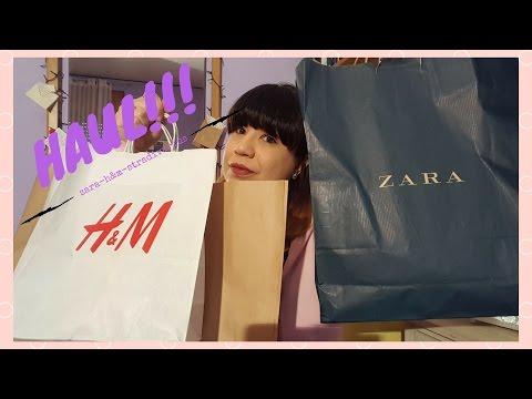 VIDEO HAUL STRADIVARIUS, ZARA E H&M!!!