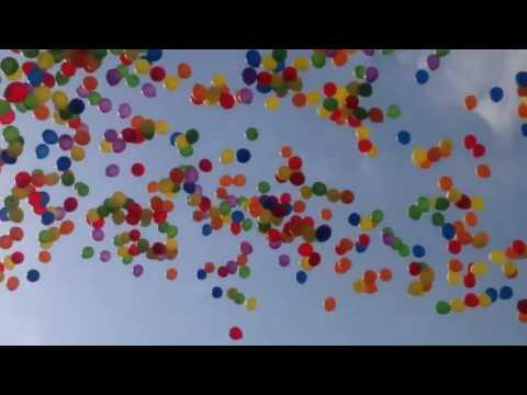 Воздушные шары в небе Футажи для видеомонтажа бесплатно в Full HD1080p качестве 1   YouTube