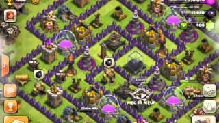 Attaques aériennes Clash of Clans