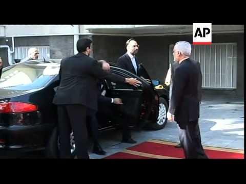 Iraqi PM al-Maliki arrives in Tehran on key visit