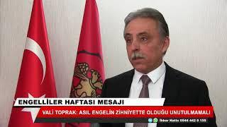 Konya Valisi Cüneyt Orhan Toprak'tan Engelliler Haftası mesajı