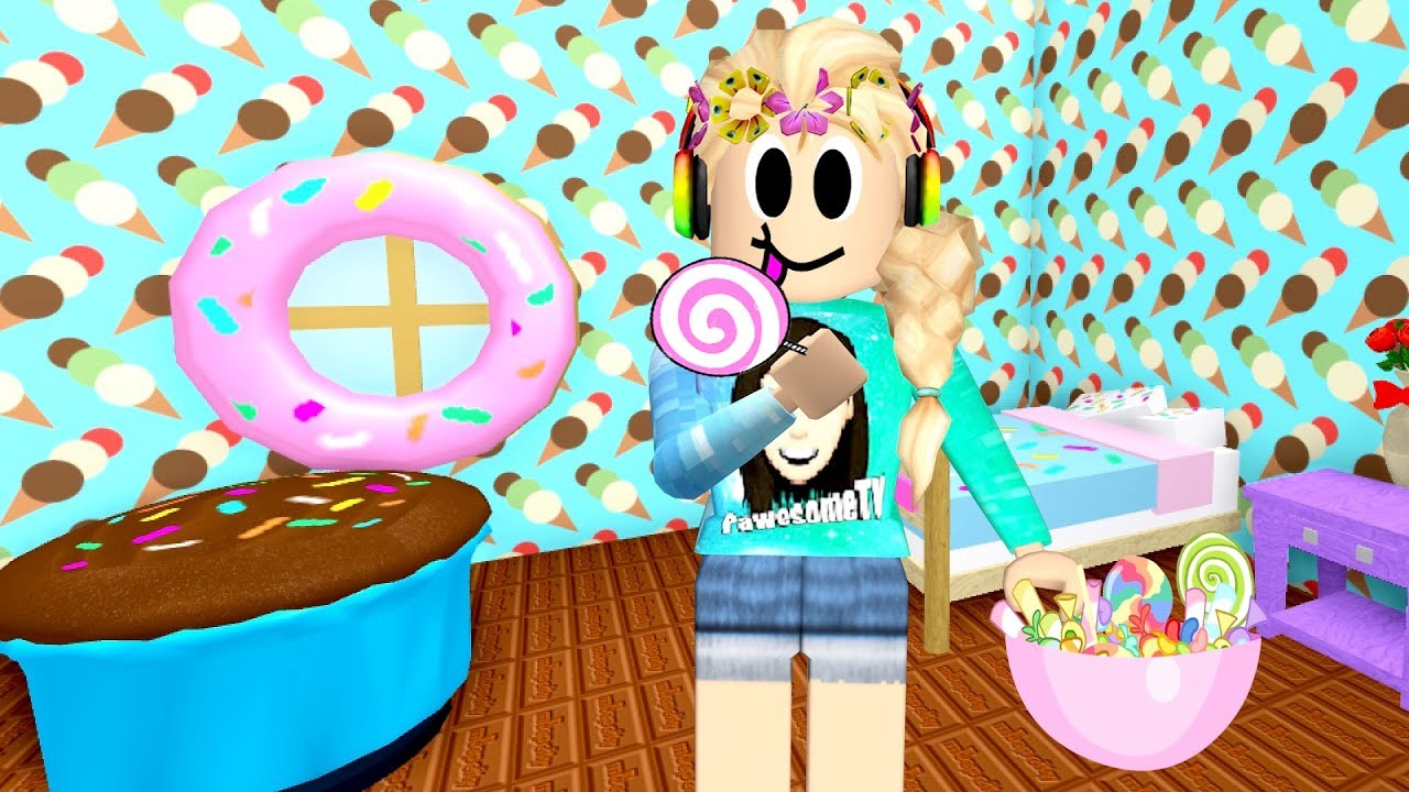 Roblox New Candy Themed Room Meep City New Update