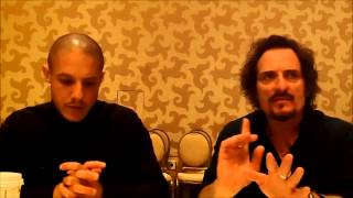 Sons of Anarchy Q&A with Theo Rossi & Kim Coates (SDCC 2014)