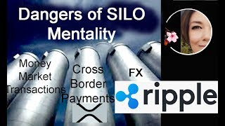 Interoperability vs Silo, Ripple XRP provides shared domestic & cross-border payment services