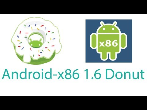 Android x86 1.6 Donut running on PC