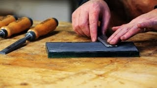 How To Tune Up A Wood Chisel | Woodworking